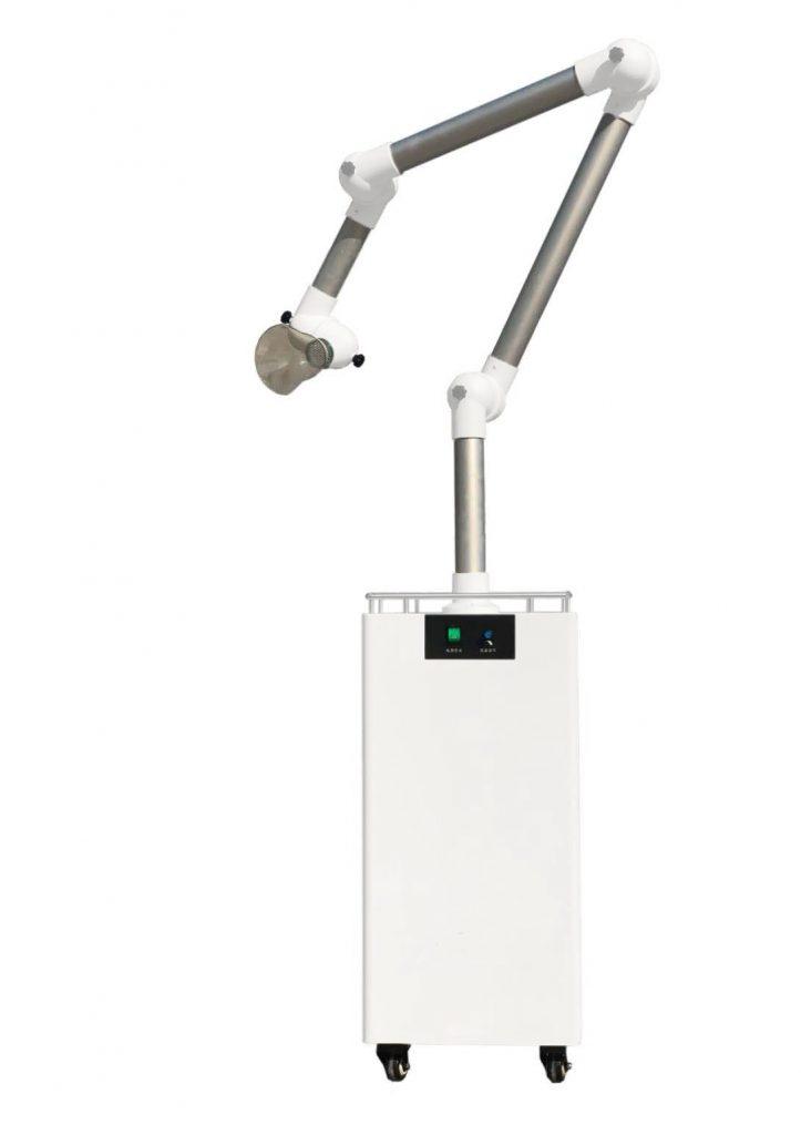 Vector Vortex Extra-Oral Aerosol Suction Device